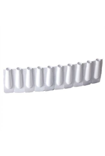 EMPTY DISPOSABLE PLASTIC SUPPOSITORY MOLDS 1.5ML (CHILD SIZE)